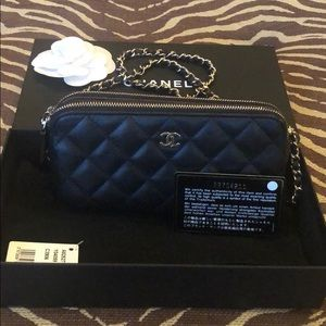 Authentic Chanel Chain Wallet
